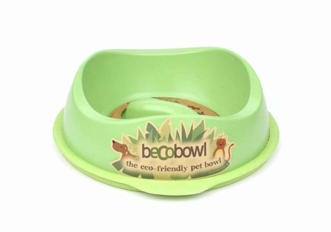 BeCo Pets Slow Feed Bowl  Lime 1.25 l