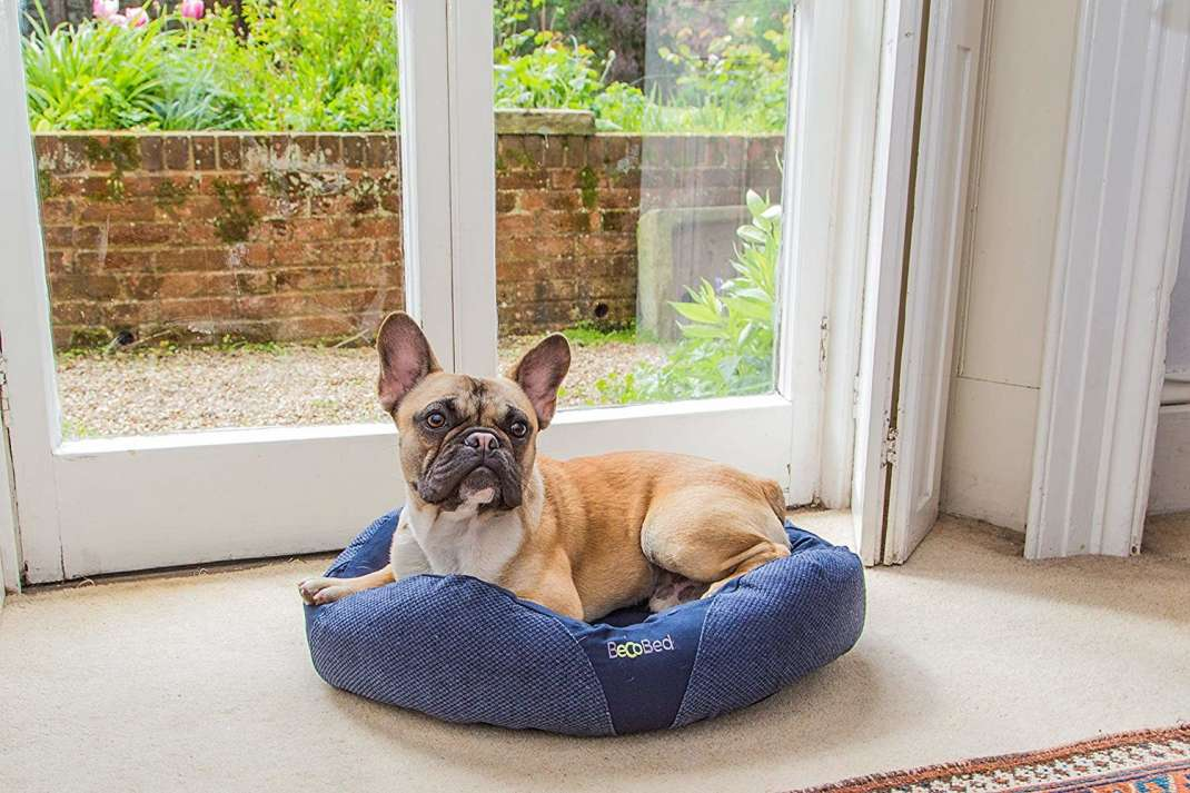 BeCo Pets Donut Bed  Bleu marine XS