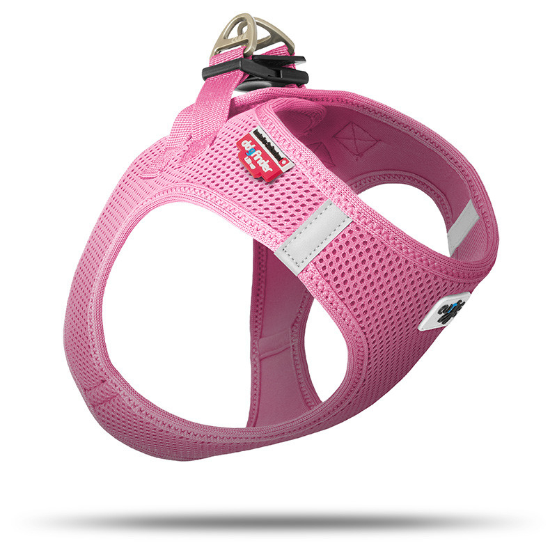 Curli Vest Harness Air-Mesh Rosa XS