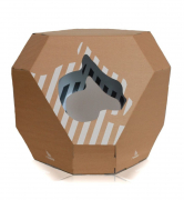 Mia reversible Cat House 48x58x57 cm