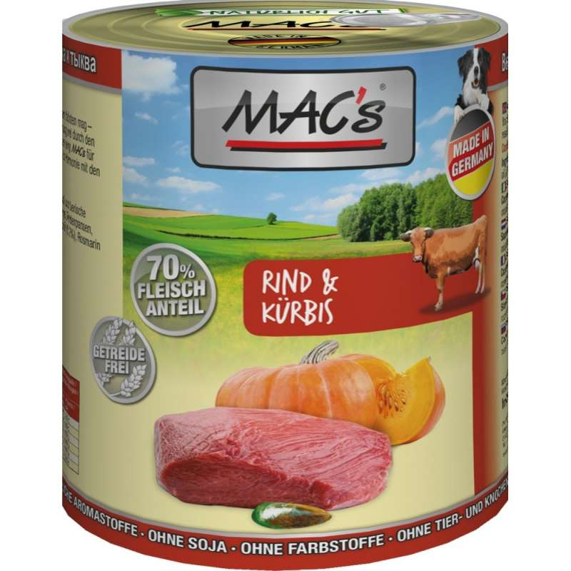 MAC's Dog - Beef & Pumpkin 800 g
