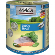 Dog - Salmon & Spinach 800 g