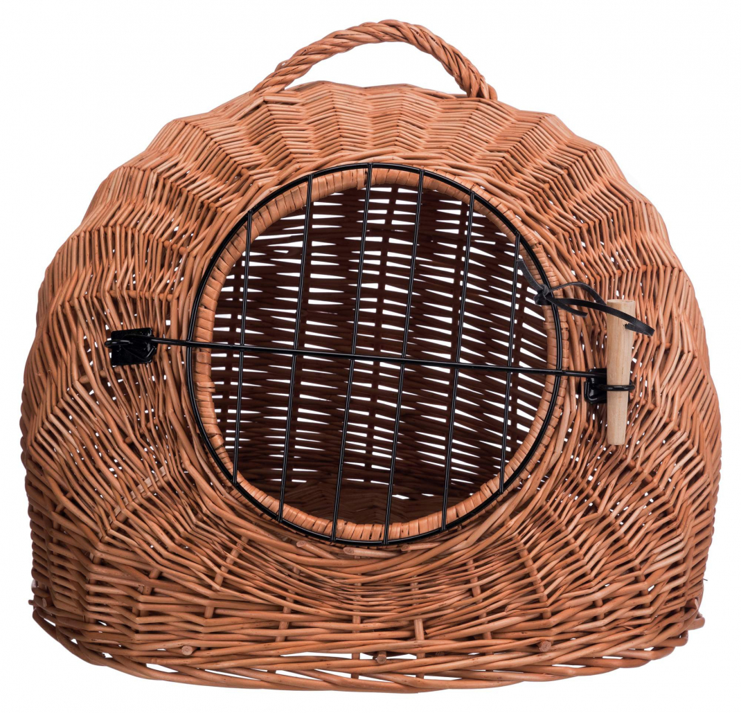 Trixie Wicker Cave with Bars 50 cm Brun