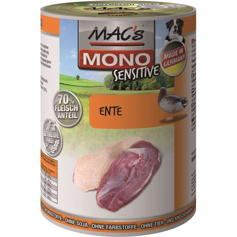MAC's Mono Sensitive - Duck 400 g, 800 g, 200 g