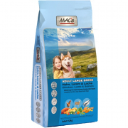 MAC'sDog Adult Large Breed with Chicken, Lamb & Salmon 12 kg Dog food