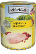MAC's Cat - Poultry & Cranberry 800 g