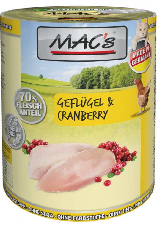 MAC's Poultry & Cranberry 400 g