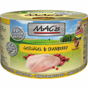 MAC's Poultry & Cranberry 200 g