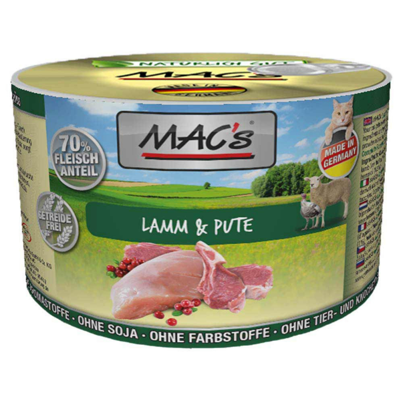 MAC's Lamb & Turkey 800 g, 400 g, 200 g