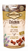 Carnilove Cat Soft Snack – Huhn mit Thymian 50 g
