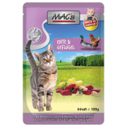 MAC's Pouch Duck & Poultry with Apple & Herbal Mix 100 g