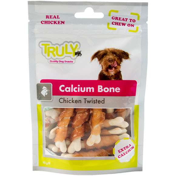 Truly Calcium Bone Chicken twisted 90 g, 360 g