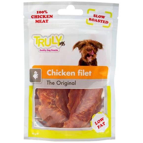 Truly Chicken filet 90 g, 360 g bei Zoobio.at
