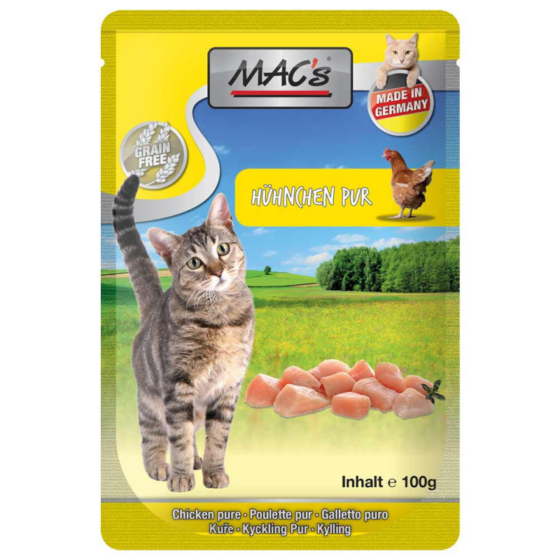 MAC's Pouch - Pure Chicken with Herbal Mix 100 g test