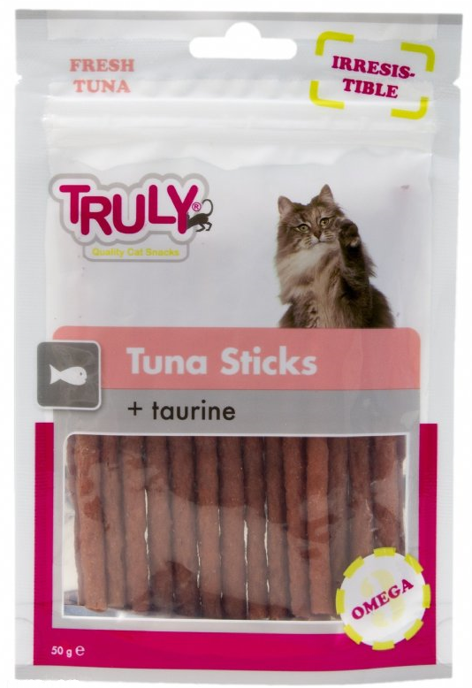 Tuna Sticks + Taurine von Truly 50 g bei Zoobio.at