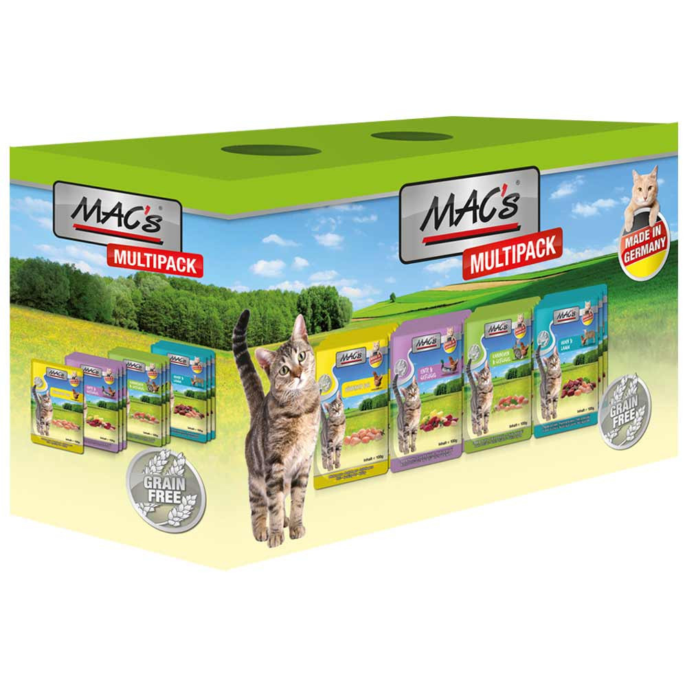 Pouch - Multipack Meat only by MAC's 12x100 g buy online