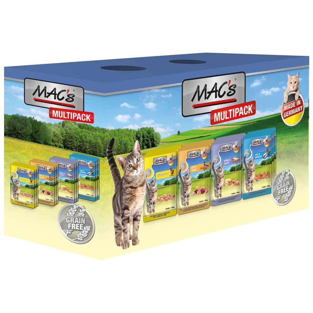 Pouch Multipack with Fish by MAC's 12x100 g buy online