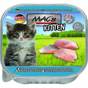 Kitten - Turkey, Chicken, and Salmon in Tray 85 g
