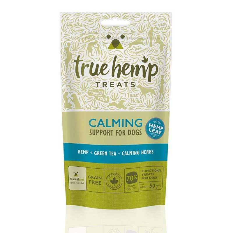 True Hemp Calmante Treats 50 g 0628451770213 opiniones