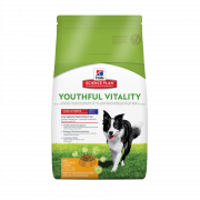 Hill's Science Plan Canine Adult 7+ Youthful Vitality Medium Breed con Pollo e Riso 10 kg