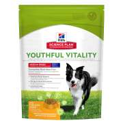 Hill's Science Plan Canine Adult 7+ Youthful Vitality Medium Breed con Pollo e Riso 750 g