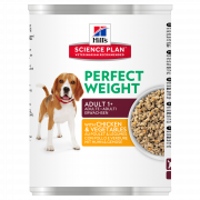 Science Plan Canine Adult Perfect Weight with Chicken and Vegetables 363 g
