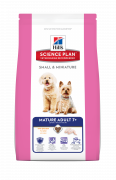 Science Plan Canine - Mature Adult 7+ Small & Miniature med Kylling Hill's 300 g, 3 kg, 1.5 kg