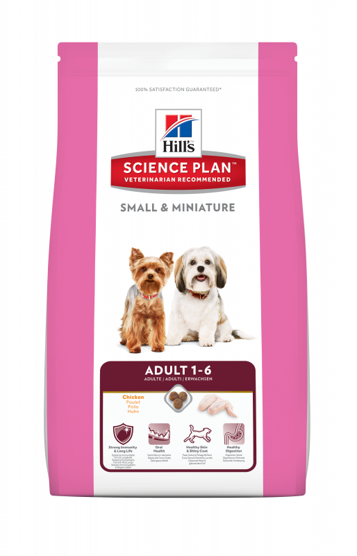 Hill's Science Plan Canine - Adult Small & Miniature 1.5 kg 0052742282107 anmeldelser