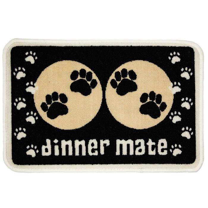 Pet Rebellion Dinner Mate Zwart Zwart 8691341284505