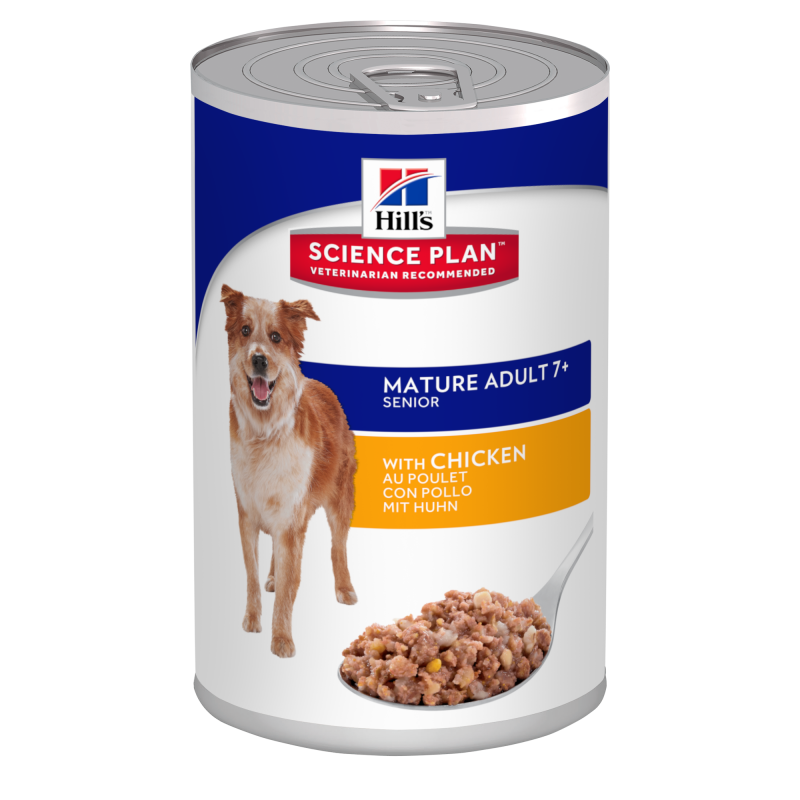 Hill's Science Plan Canine Mature Adult 7+ Kip 370 g 0052742805504