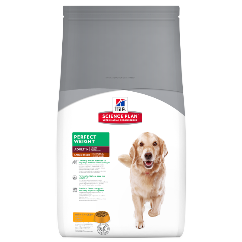 Hill's Science Plan Canine Adult Perfect Weight Large Breed med Kyckling 2 kg, 12 kg köp billiga på nätet