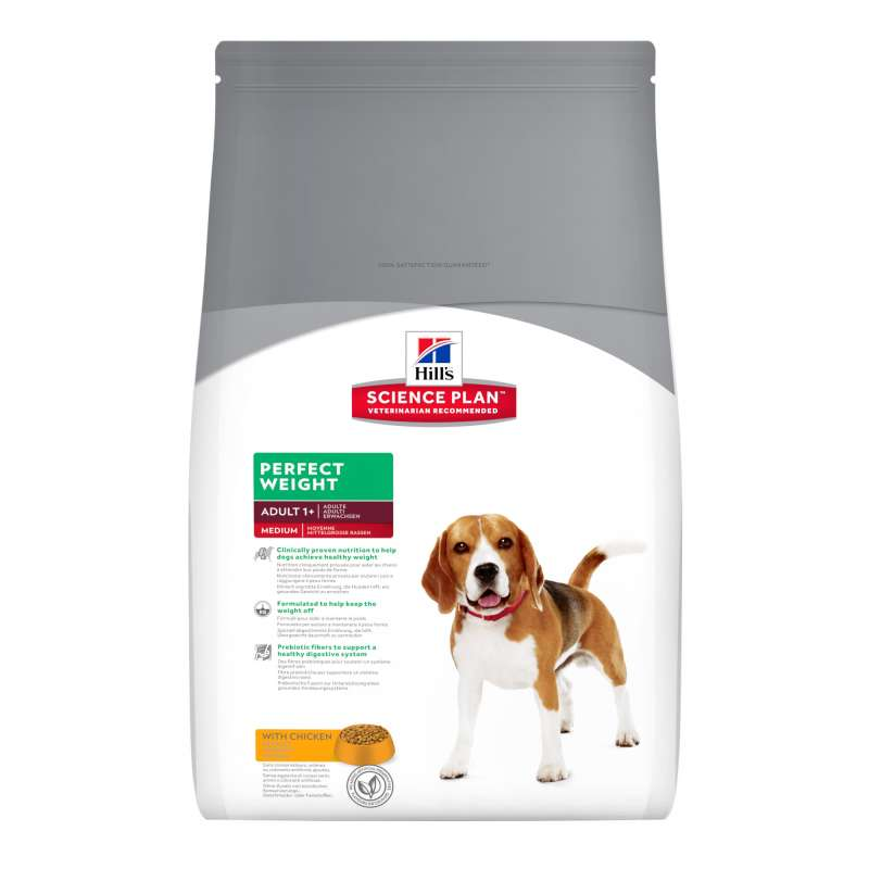 Hill's Science Plan Canine Adult Perfect Weight Medium med Kyckling 2 kg