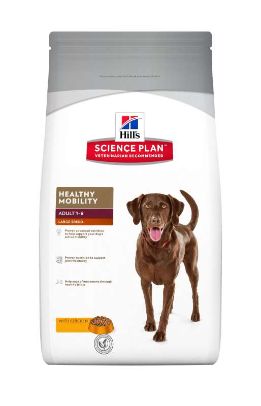 Hill's Science Plan Canine Adult Healthy Mobility Large Breed Kip 12 kg 0052742809700