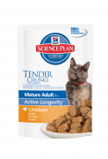 Hill's Science Plan Feline - Mature Adult 7+ Active Longevity with Chicken in Gravy Art.-Nr.: 24327