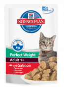 Hill's Science Plan Feline Adult 1+ Perfect Weight mit Lachs 85 g Katzenfutter