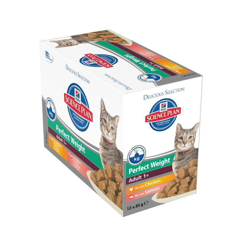 Hill's Science Plan Feline Perfect Weight Adult 1+ Multipack 0052742000589 kokemuksia