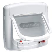 Staywell Deluxe Magnetic Cat Flap Hvid