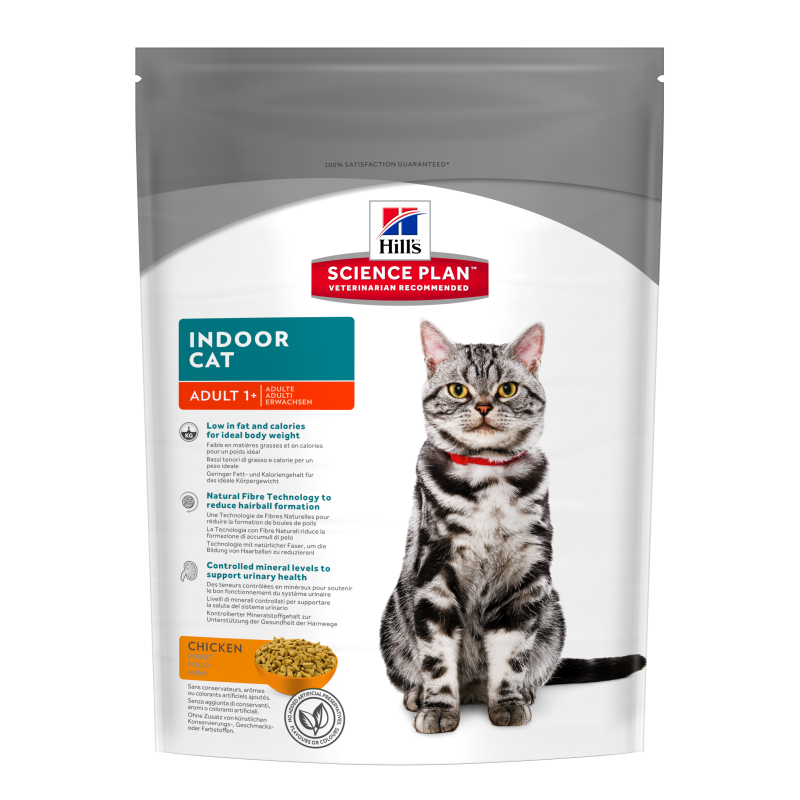 Hill's Science Plan Feline Adult Indoor Cat mit Huhn 300 g