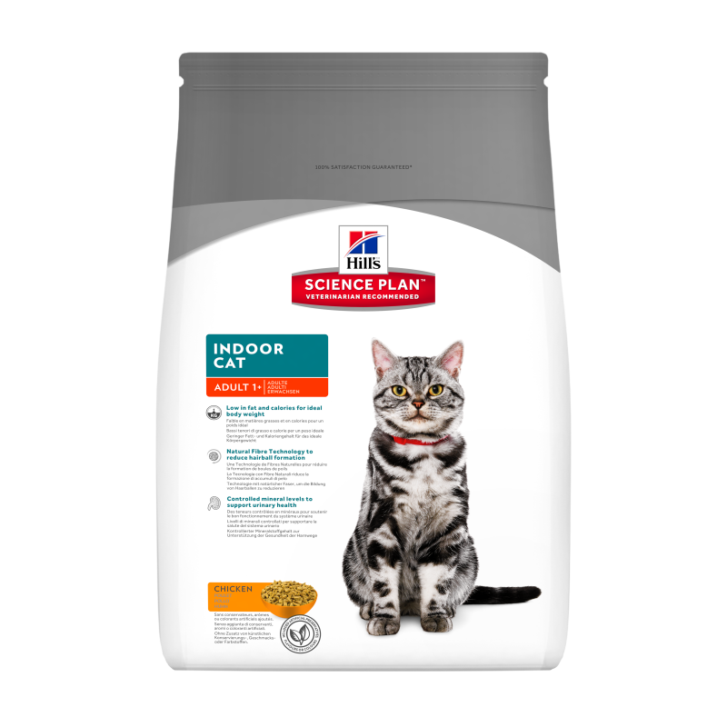 Hill's Science Plan Feline Adult Indoor Cat mit Huhn 4 kg 0052742752402