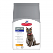 Hill's Science Plan Feline Mature Adult 7+ Sterilised Cat med Kylling 1.5 kg