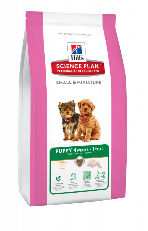 Hill's Science Plan Puppy Small & Miniature Kylling Høns