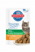 Science Plan Kitten Healthy Development met Kip 85 g