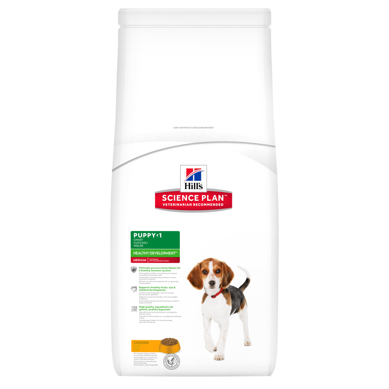 Hill's Science Plan Puppy Healthy Development Medium Kip  Kip 3 kg