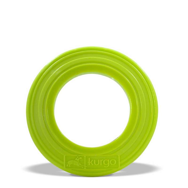 Kurgo Mini Tossing Disc  Lime 11 cm