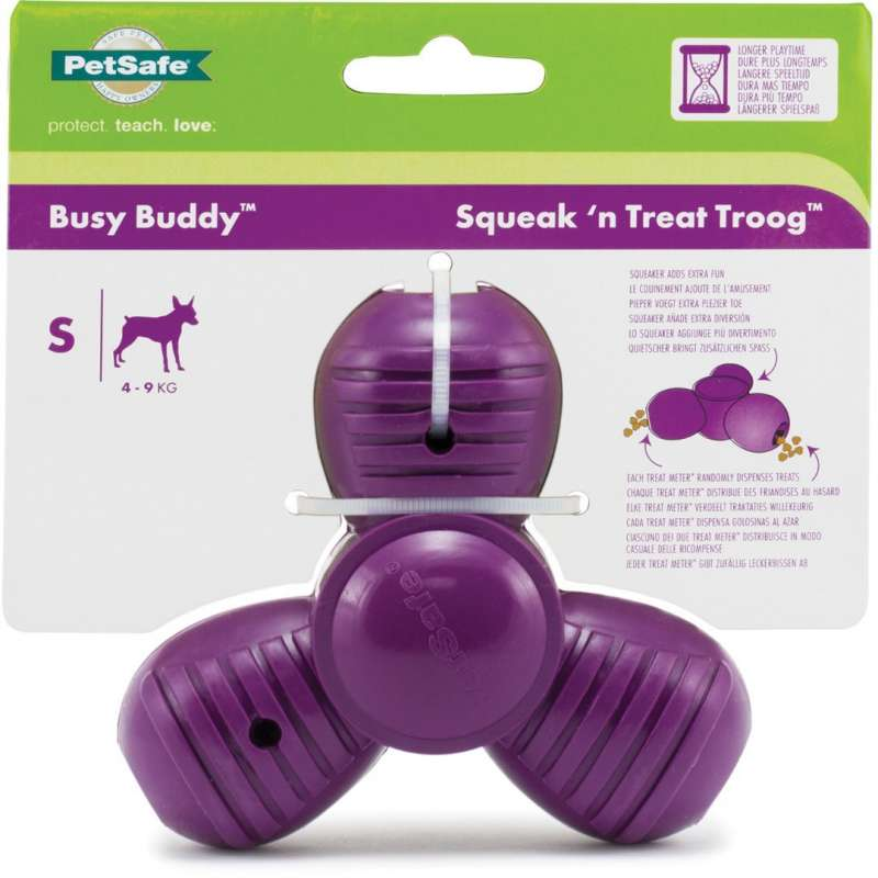 PetSafe Busy Buddy Squeak 'n Treat Troog