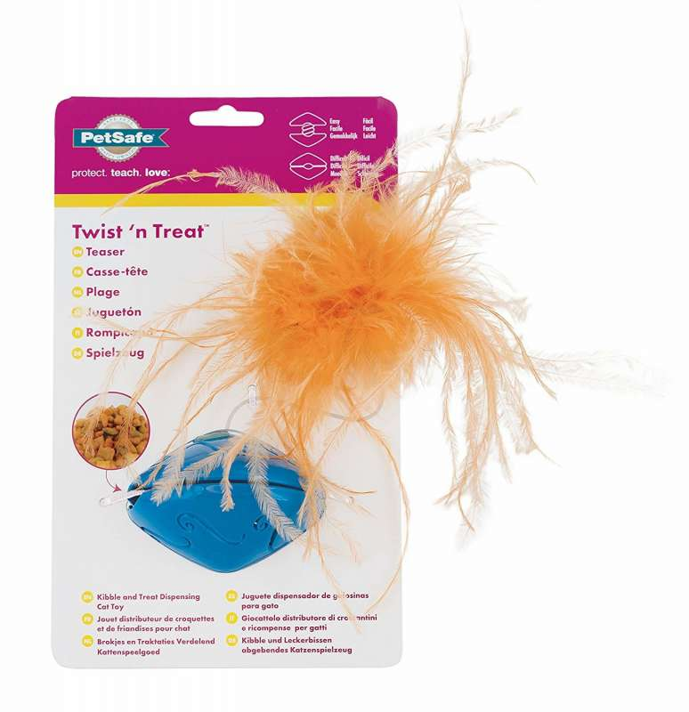 PetSafe Funkitty Twist 'n Treat Rompicapo  Arancione