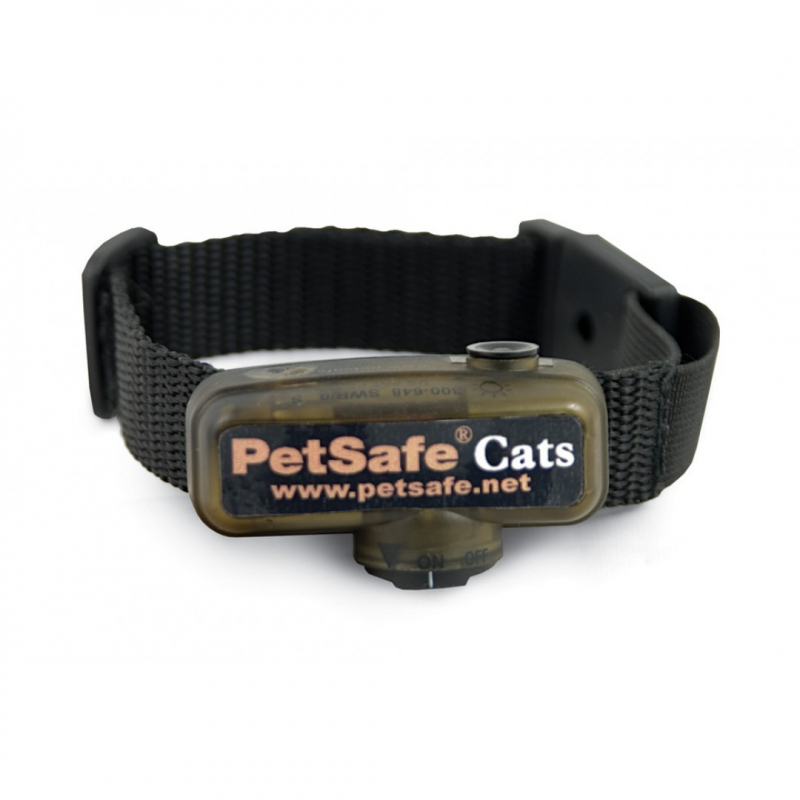 PetSafe Deluxe In-Ground Cat Fence Ontvangershalsband  0729849107052