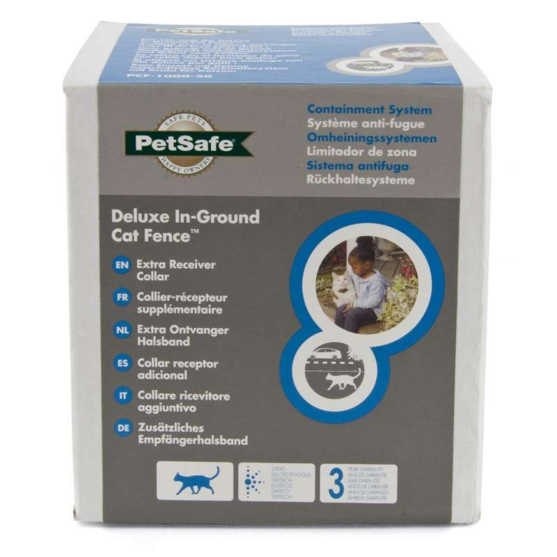 PetSafe Deluxe In-Ground Cat Fence Ontvangershalsband  29 cm