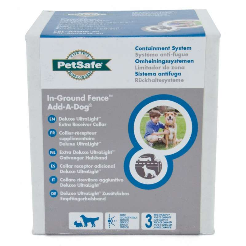PetSafe Extra Ontvanger Halsband Ultralight Add-A-Dog  15-66 cm