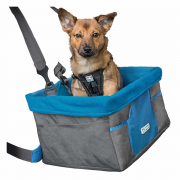 Heather Booster Seat Azul